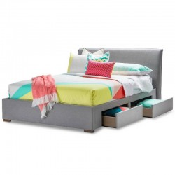 Bed Frame with 2 Bedside Drawers