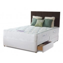 Bed frame and 2 bed side drawers