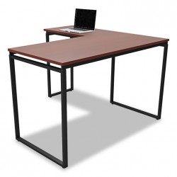 Office furniture desk with metal legs